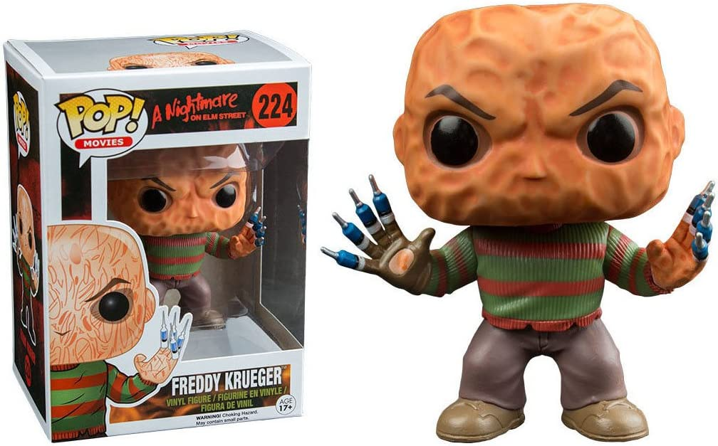 Funko 6407 – A Nightmare On Helm Street, Pop Vinyl Figure 224 Freddy Krueger Syringe Fingers, 10 cm
