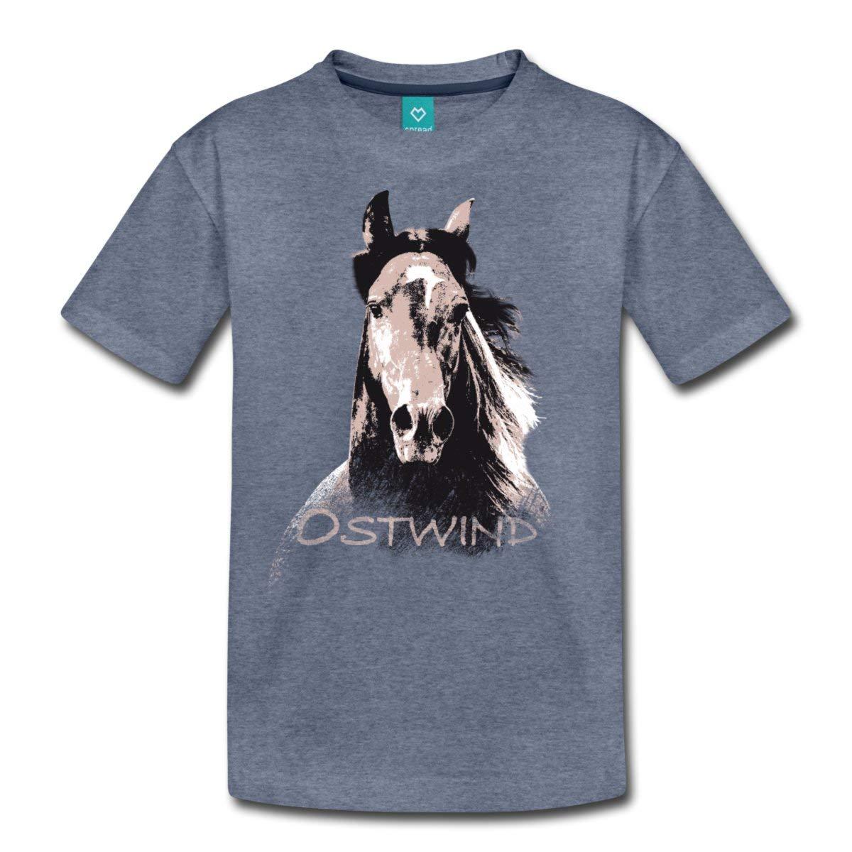 Pferde Porträt Pferdekopf Frauen Premium T-Shirt von Spreadshirt®