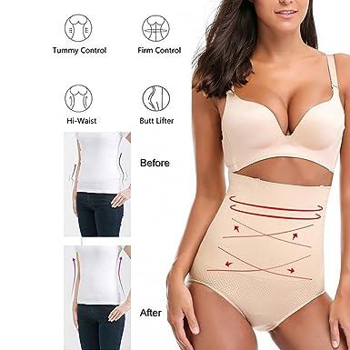 c237e7b7fea5 AOBRITON Women Paded Hip Enhancer Butt Lifter Waist Trainer Shapewear Body  Modeling Tummy Control Panties Slimming Shaper at Amazon Women's Clothing  store: