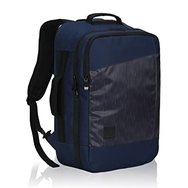 Hynes Eagle 28L Aurora Convertible 19x12x7.5 Flight Approved Carry On Travel  Backpack Navy Captain