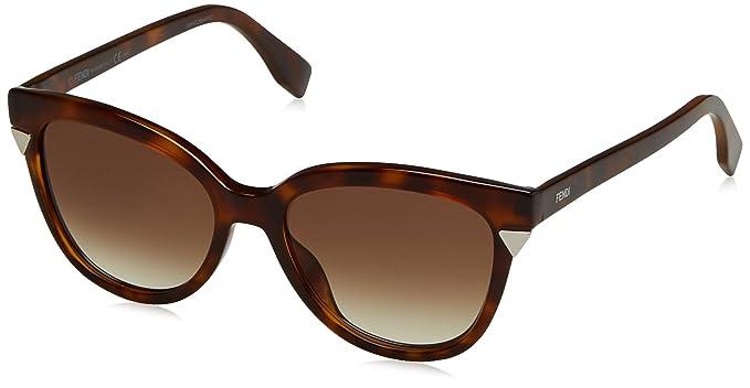 Fendi FF 0125/S DB MQL, Gafas de sol para Mujer, Marrón ...