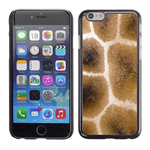 "Premio Sottile Slim Cassa Custodia Case Cover Shell // V00002439 Giraffe fourrure // Apple iPhone 6 6S 6G PLUS 5.5"""
