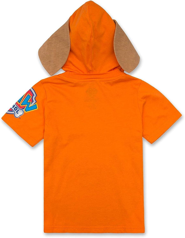 Orange 3T Rubble Rocky Boys Zuma Nickelodeon Paw Patrol Hooded Shirt: Chase Marshall