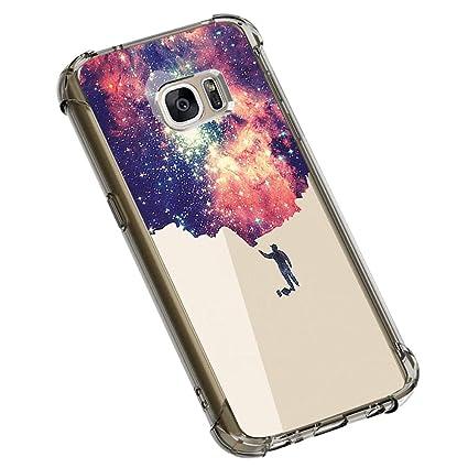 Amazon.com: Funda para Samsung Galaxy S7 de 10 capas ...