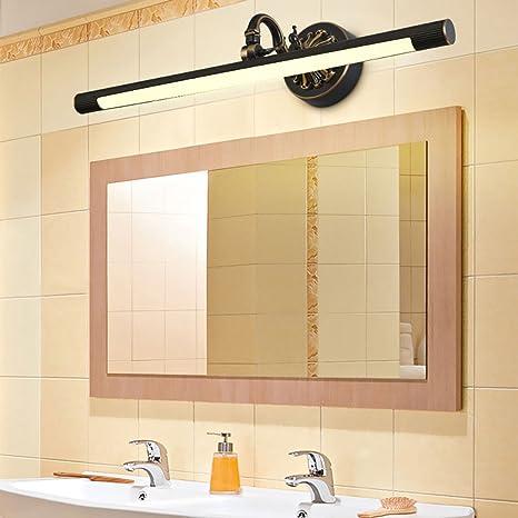 Lampada Bagno Specchio.Lampada Specchio Di Bronzo Led Bagno Europeo Lusso Specchio