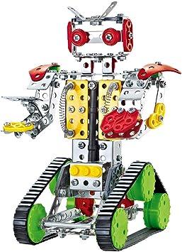 ColorBaby - Robot mecano metal, 262 piezas Smart Theory (49034): Amazon.es: Juguetes y juegos