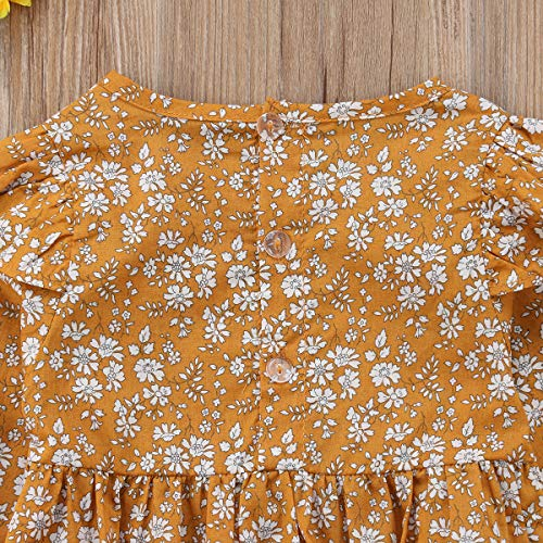 af7fc71198e ... Romper Bodysuit Infant Jumpsuit One  another chance 35c46 5d8a4 sweetyhouse  Newborn Baby Girls Long Sleeve Floral Bodysuit Infant Ruffle Fly Sleeve ...