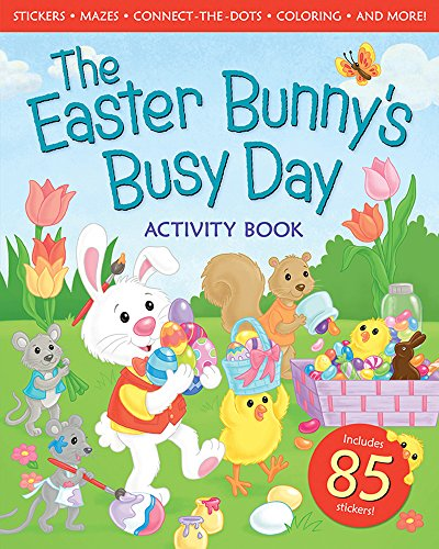 The Easter Bunny's Busy Day Activity Book