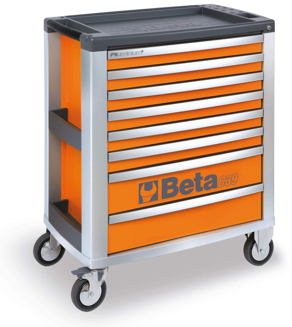 Beta Tools C39-8//G Beta C39//8-G Cassettiera/Mobile per Attrezzi con/8/Cassetti-Grigio