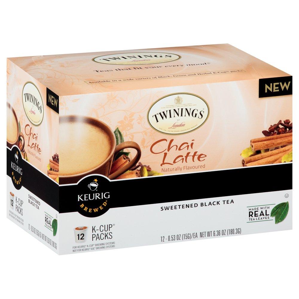Twinings Chai Latte Keurig K-Cups, 48 Count by Twinings