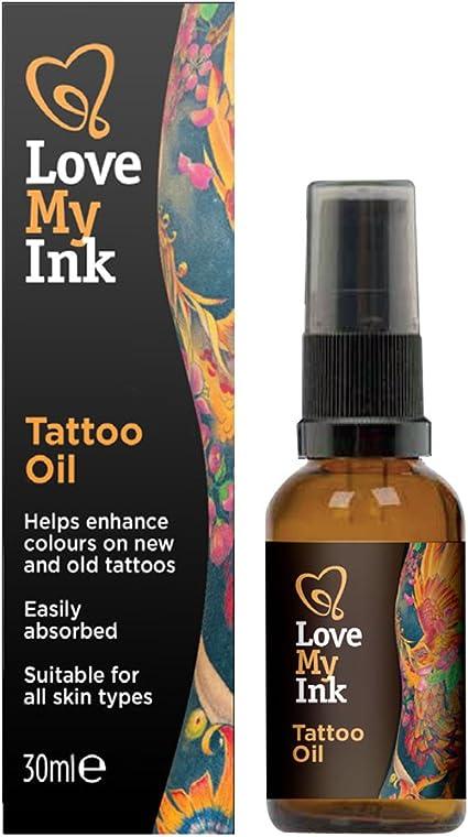 LOVE MY INK aceite para zonas tatuadas 30 ml: Amazon.es: Belleza