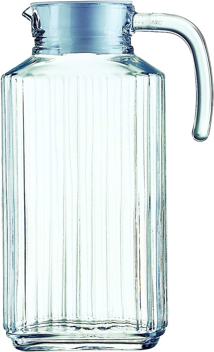 Luminarc Arcoroc Quadro Jarra para Frigorífico con Tapa 1,7 L
