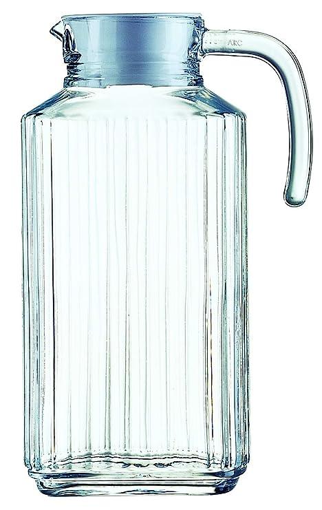Luminarc Arcoroc Quadro Jarra para Frigorífico con Tapa 1,7 L ...