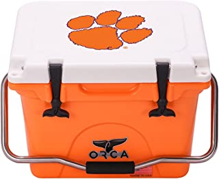 product image for ORCA 20 Cooler Clemson University, Orange/White