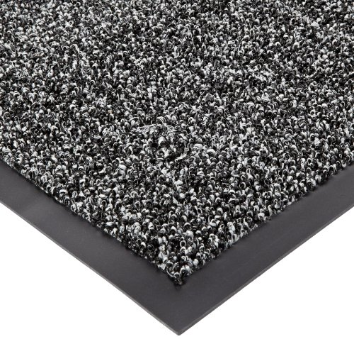 Prelude Cat - Notrax Non-Absorbent Fiber 231 Prelude Entrance Mat, for Outdoor and Heavy Traffic Areas, 3' Width x 5' Length x 1/4