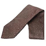 Gucci Horsebit Patterned Burgundy Red Men's Silk Tie 324856