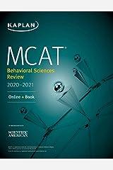 MCAT Behavioral Sciences Review 2020-2021: Online + Book (Kaplan Test Prep) Kindle Edition
