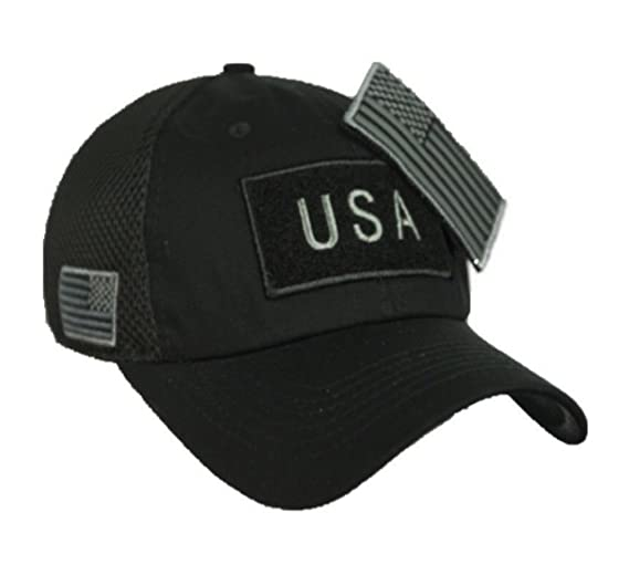 a1c20804038 90210 Wholesale USA American US Flag Baseball Cap Patch Trucker Tactical  Army CAMO Hat Hunting (