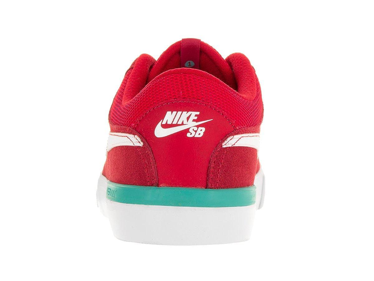 Amazon.com | Nike Men's SB Koston Hypervulc University Red/White/Clr Jade Skate  Shoe 10 Men US | Fashion Sneakers