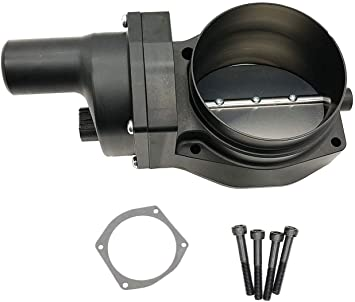 92 MM 4 BOLT THROTTLE BODY LS ENGINE DRIVE BY WIRE Compatible W// CHEVY GM BLACK