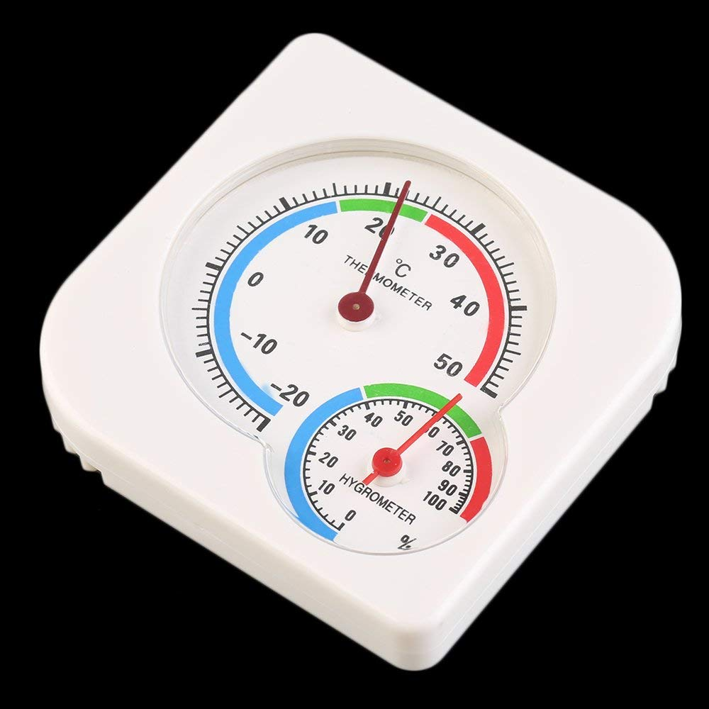 New Useful Nursery Baby House Room Mini Thermometer Wet Hygrometer Temperature Meter Home Use Household Supply Erduo