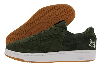7a25dfce3e7244 Reebok Club C 85 Jet Life Mens (Curren y) in Primal Green