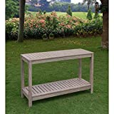 Patio Furniture, Patio Table, Console Table, Outdoor Table, Outdoor Console Table, Contemporary Style 30-inch High Casual West Lake Console Table