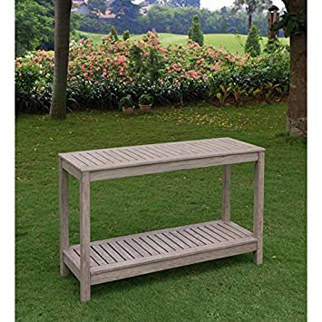Patio Furniture, Patio Table, Console Table, Outdoor Table, Outdoor Console  Table,