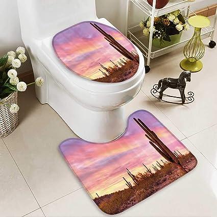 Amazon Com Toilet Cushion Suit Saguaros Wilderness Nature Ecosystem