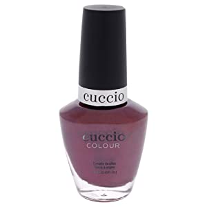Cuccio Colour Nail Polish - Moscow Red Square - Nail Lacquer for Manicures & Pedicures, Full Coverage - Quick Drying, Long Lasting, High Shine - Cruelty, Gluten, Formaldehyde & 10 Free - 0.43 oz