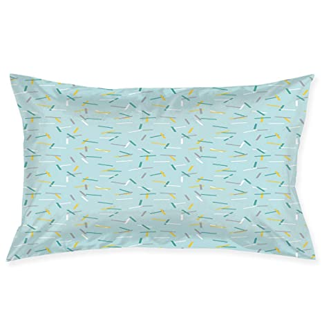 Amazon.com: YABABY - Funda de almohada con estampado de la ...