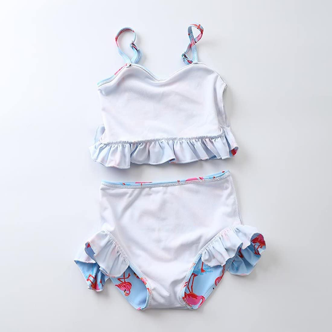 Dan Ching Kids Toddler Girls Cute Swimsuit Bikini