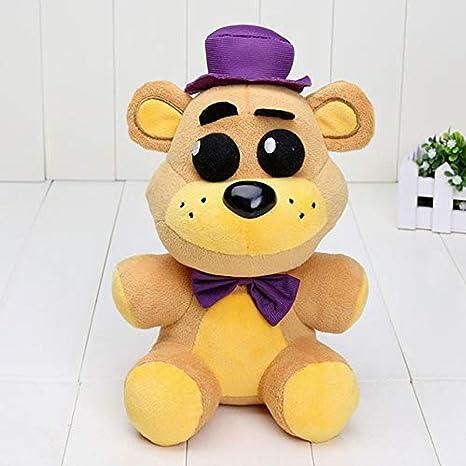 "New FNAF Five Nights At Freddy/'s Nightmare Bonnie Purple 6/"" Plush Toy Doll"