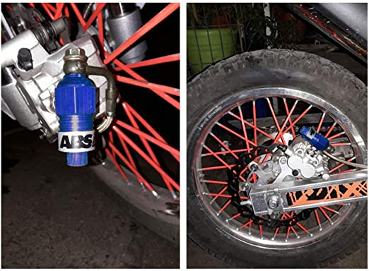 KKmoon ABS 10mm Sistema de Freno Antibloqueo Motocicleta Sistema de Asistencia Pinza de Freno de Disco