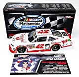 AUTOGRAPHED 2014 Kyle Larson #42 Cartwheel Target Racing XFINITY CALIFORNIA WIN (Raced Version) Rare Rookie Signed Lionel 1/24 Collectible NASCAR Diecast Car with COA (#557 of only 996 produced!)