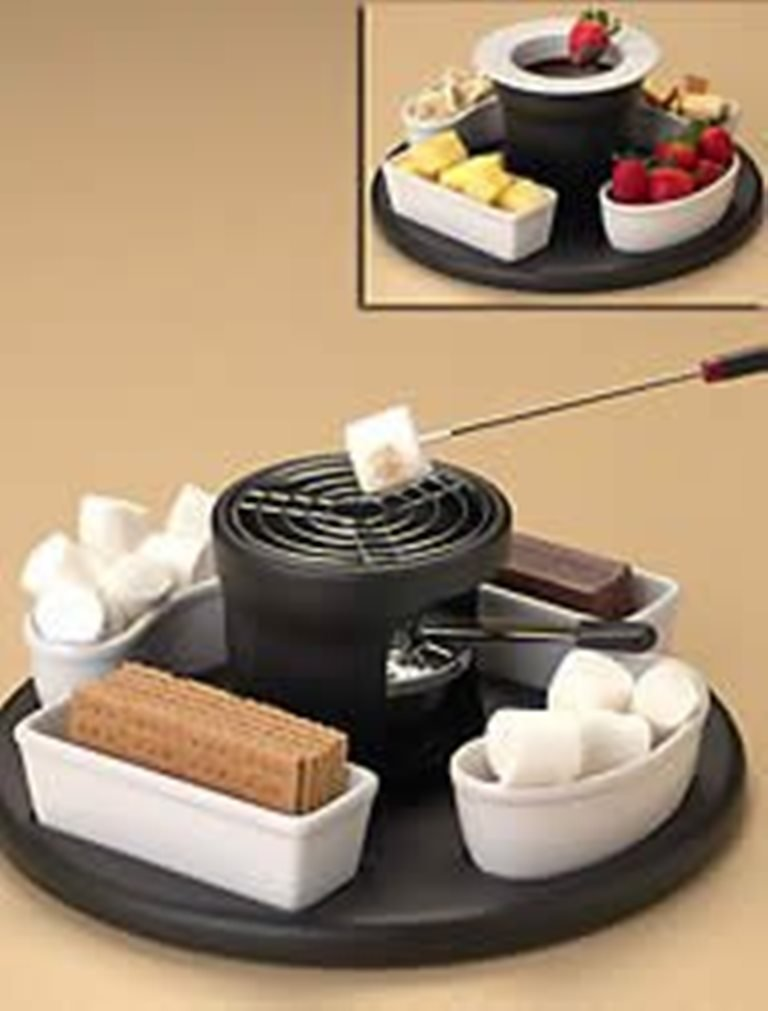 CASAMODA S'MORES MAKER 3 in 1 DESSERT CENTER
