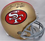 JERRY RICE AUTOGRAPHED SAN FRANCISCO 49ERS FULL