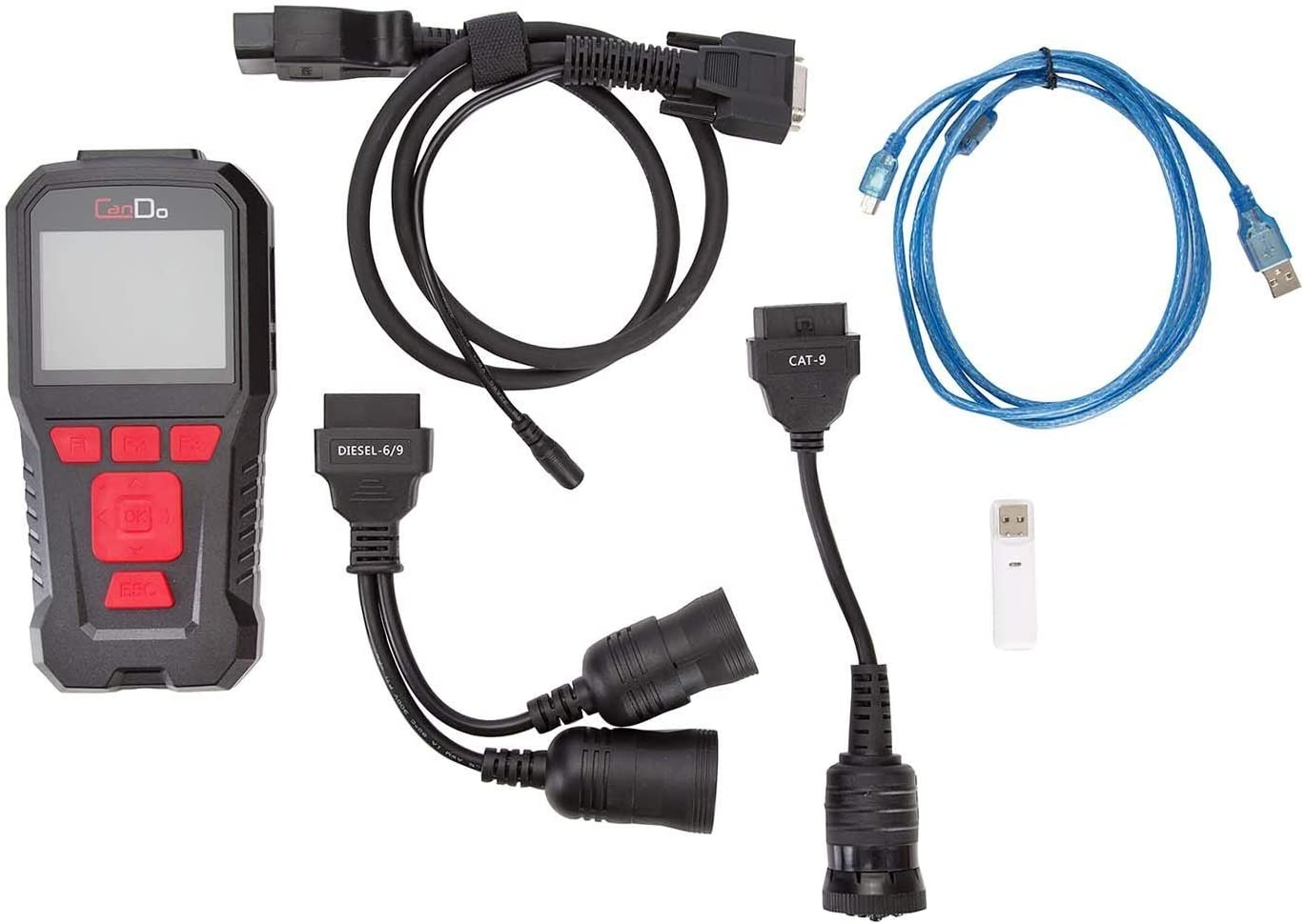 HD Code II Handheld Commercial Truck Engine Transmission Scanner with DPF Regen