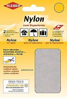 Kleiber 430 39 Nylon Flicken, 12 x 10 cm, schwarz 2er Set