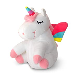 Unicorn-Pillow-Gift, Unicorn LED Stuffed Animal Plush Pillow, Huggable Gift for Girls with Magical Lights