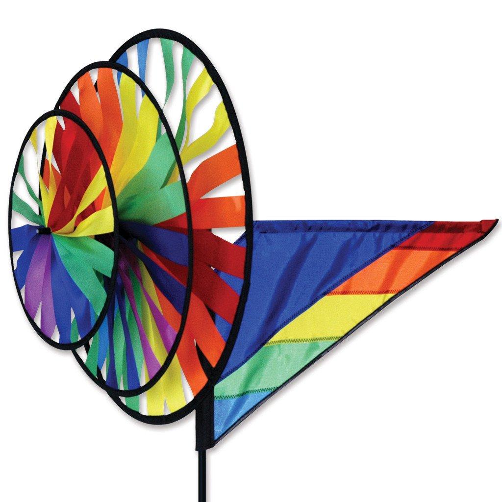 Premier Kites Triple Spinner - Rainbow