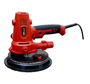 iBELL Dry Wall Sander DS80-90, 180MM, 800W, 1200-2300rpm with Vacuum and LED Light – 6 Months Warranty