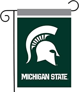 Briarwood Lane Michigan State Spartans Garden Flag NCAA Licensed 12.5