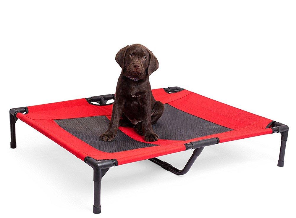 Cama para perro grande elevada y ventilada grande para uso doméstico desmontable 91 * 76 * 18,5 cm: Amazon.es: Productos para mascotas