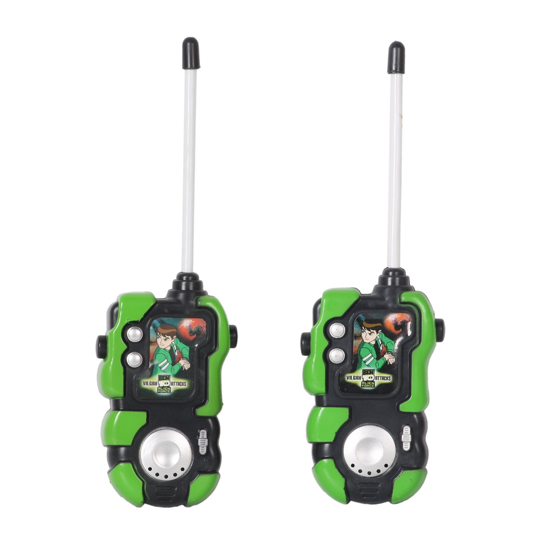 Huang Cheng Toys Alien Force Kids Handheld Walkie-Talkie Pack of 2 Communication Toy