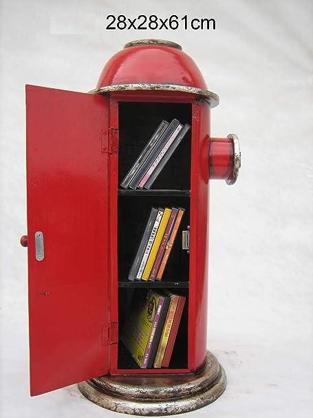 Cabina Armadio In Inglese.Retro Vintage Armadio A Inglese Fire Idrante Rosso Amazon It