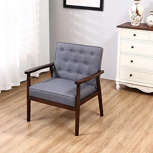 MTFY Retro Modern Living Room Chair