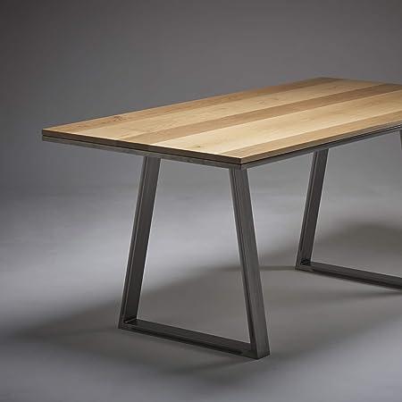 Mesa de comedor (roble macizo - Elige entre piernas a forcina o ...