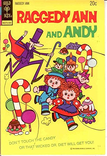 RAGGEDY ANN & ANDY (1971-73 GK) 6 VF-NM Sep. 1973 COM