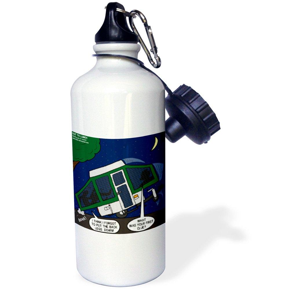 ローズWB _ 4544 _ 1ラフコリーPortraitスポーツウォーターボトル、21オンス、ホワイト   B002XCTQAS